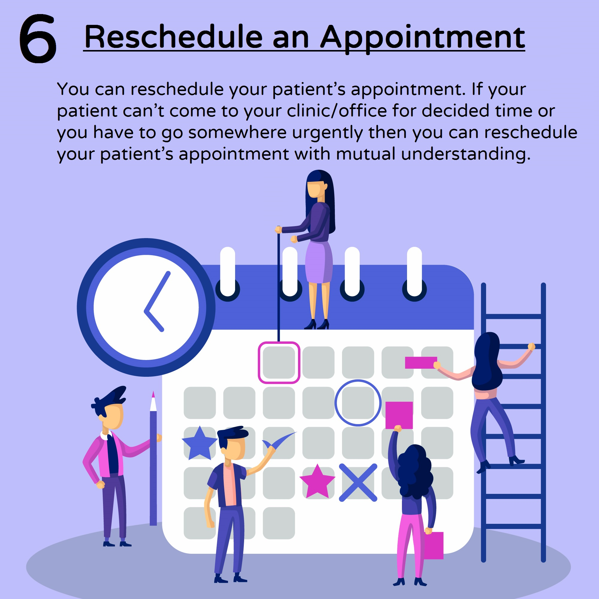 Reschedule an Appointment