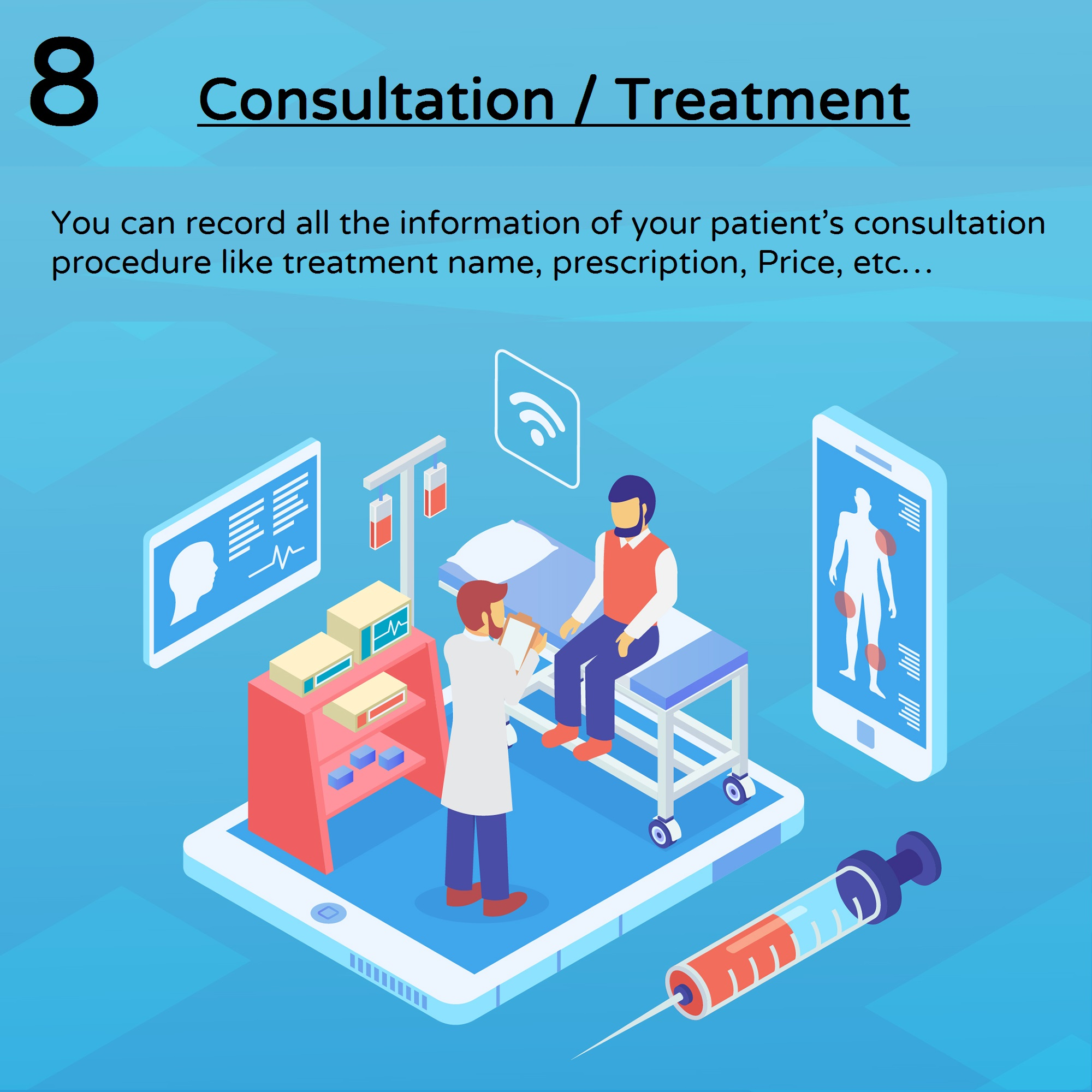 Consultation image for practice management system