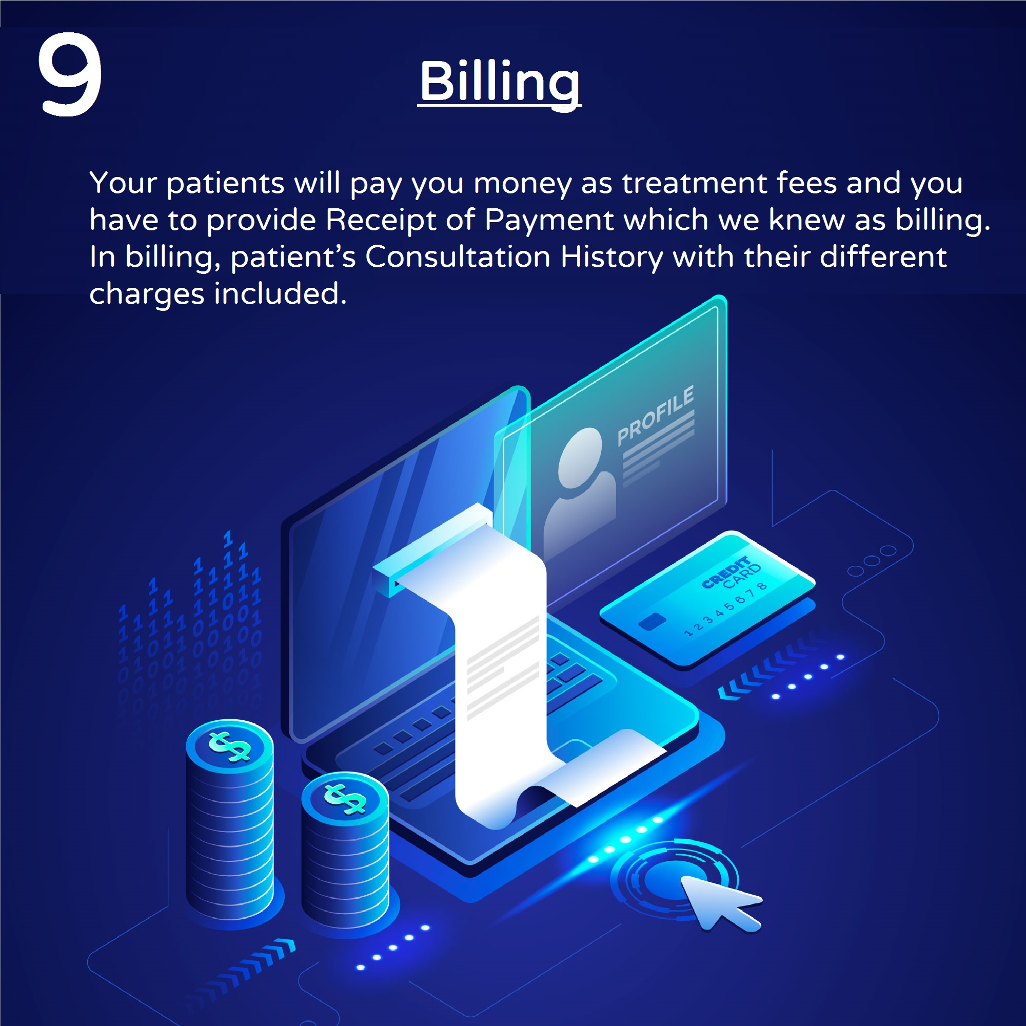 Billing and Payment Screen