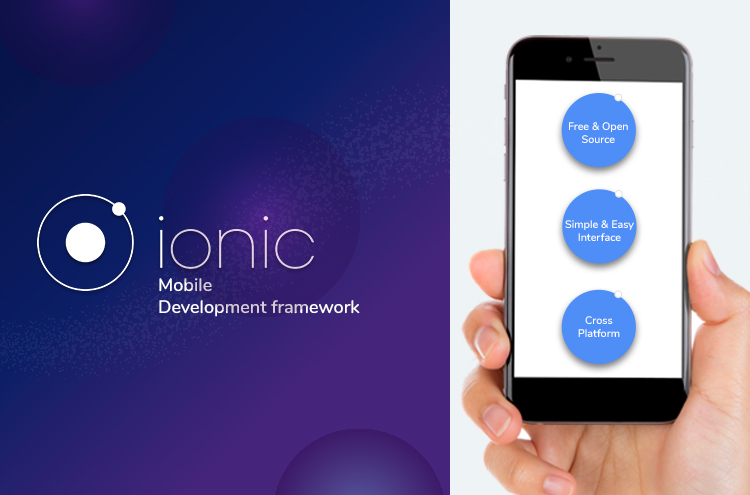 Ionic mobile app development framework
